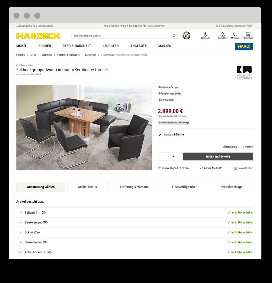 Browser_Hardeck-Produkt