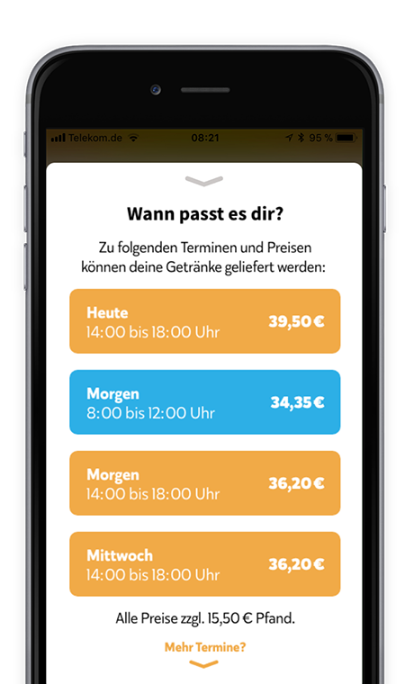 Durst-Customer-App-Timeslot