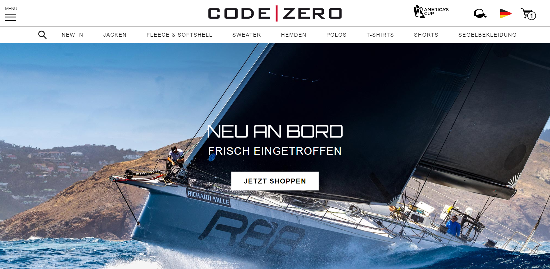 code-zero-startpage